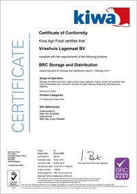 Download the BRC certificate