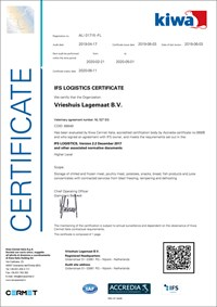 Download the IFS certificate